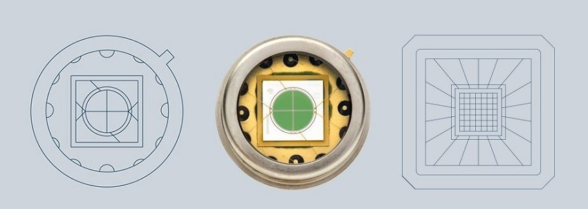 Quadrant PIN Photodiodes