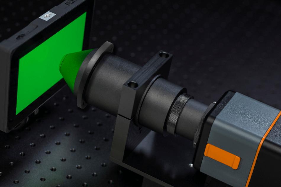 (FPD) conoscope lens