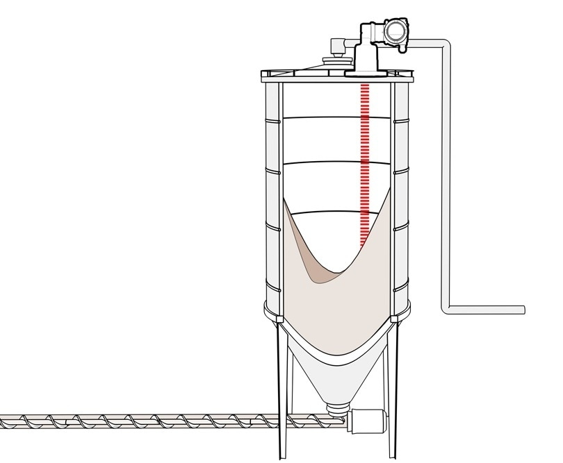 Narrow LLT100 laser beam not affected by build-up