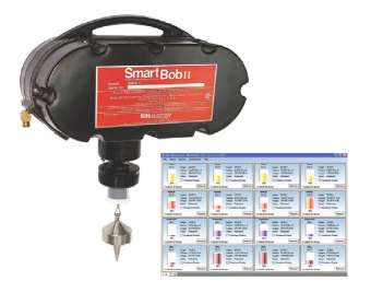 The SmartBob sensors are strategically located in a vessel to monitor critical measuring points and using the eBob software are programmed to measure materials at scheduled time intervals or on demand.