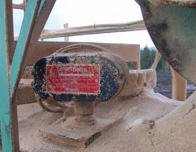 SmartBob installed on a sawdust bin.