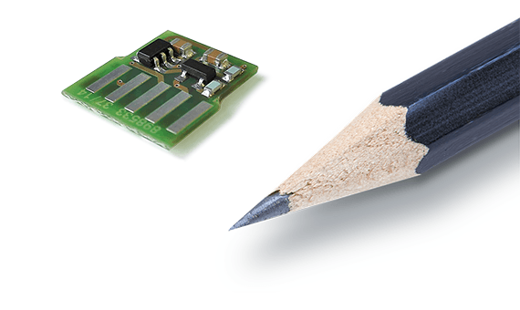 TEDS is a tiny electronic chip that carries unique sensor information.