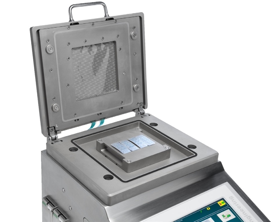 Pill Blister Machine with Integrated Pressure Mapping System