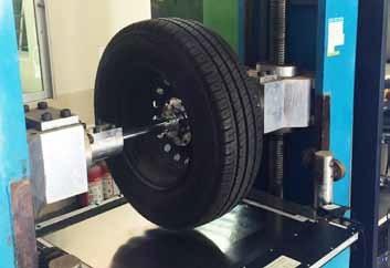 Tire footprint data