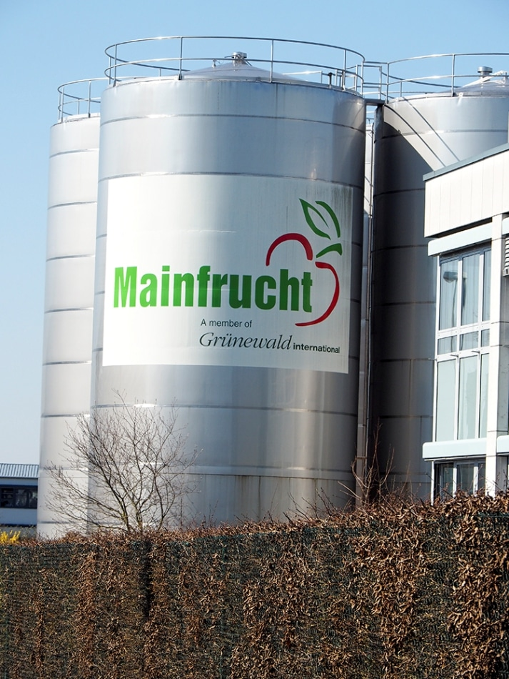 The company Mainfrucht in the Franconia region of Germany produces high-quality fruit and vegetable products.