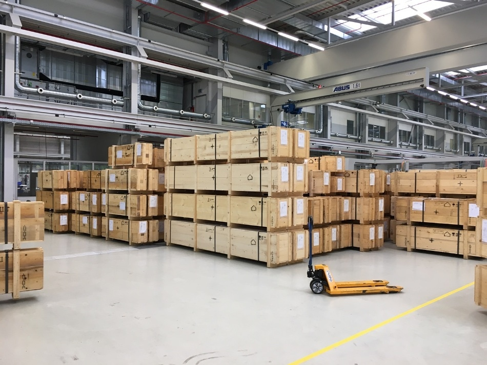 The large order for Linde reached enormous proportions.