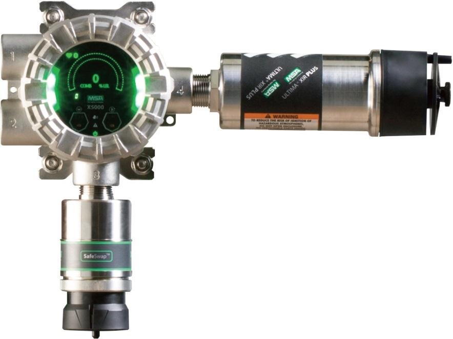 MSA ULTIMA X5000 gas monitor (dual sensor)