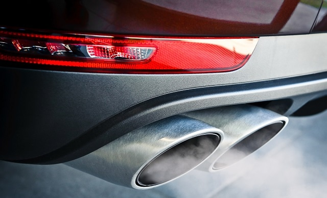 Exhaust fumes are a major cause of air pollution in vehicles. (Image credit: Rasulov/Shutterstock.com)