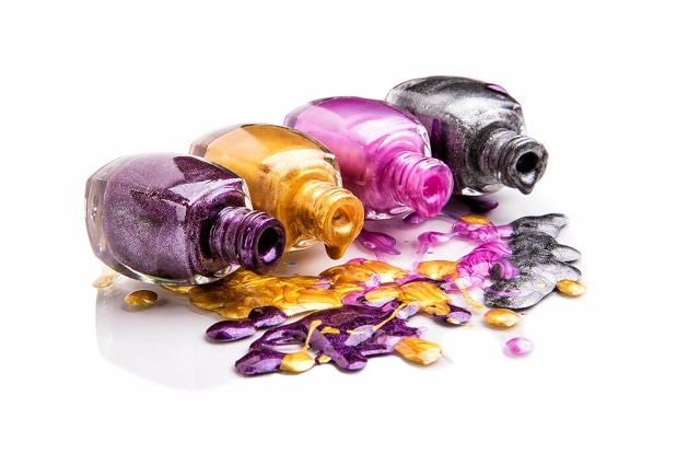 VOCs can be released into a room by solvents-containing products such as nail varnish as well as more everyday items such as newspapers and cosmetics. (Image credit: Inga Dudkina/Shutterstock)