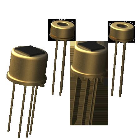 Optical components of MIPEX LED gas sensors