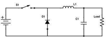 Simplified buck schematic