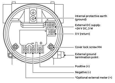 LLT100 electrical connections