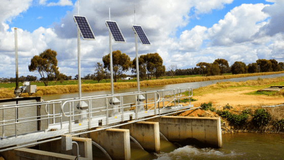 Water Delivery to Farms in Australia