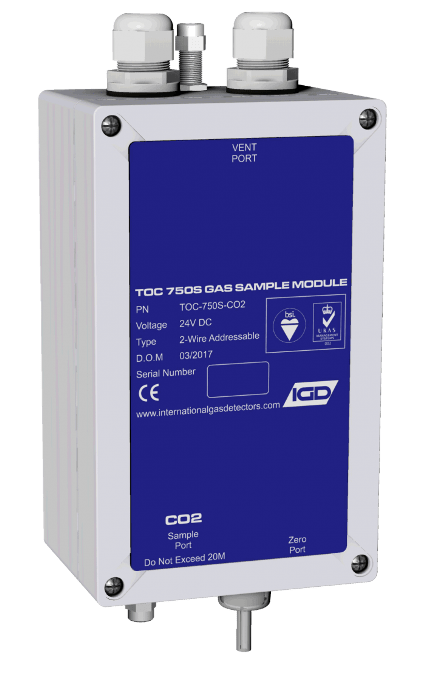 IGD's innovative addressable sampler. Available with PID sensor options. Utilising ground breaking Sentinel+ addressable communication and automatic periodic zeroing function.