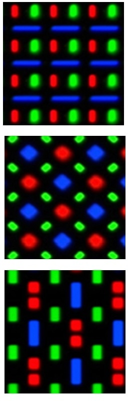 ROI are dynamically defined regardless of OLED pixel pentile structure, meaning that any arbitrary pixel pattern can be measured to apply demura to any display.