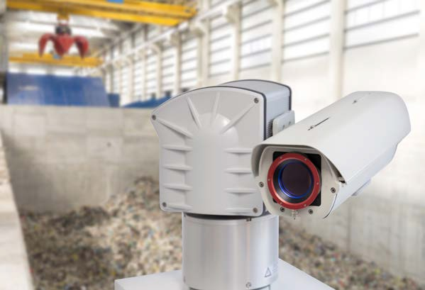 The IRIScan FS system is able to detect fires at an early stage using infrared measurement technology.