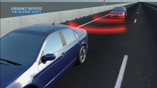 The IIHS will use Locata positioning to control automated testing of frontal collision avoidance and other safety systems.