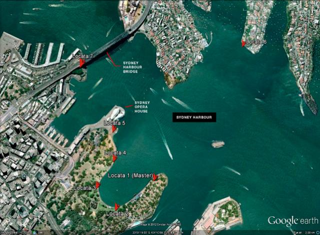 The Sydney Satellites Network based around the Sydney Harbour.