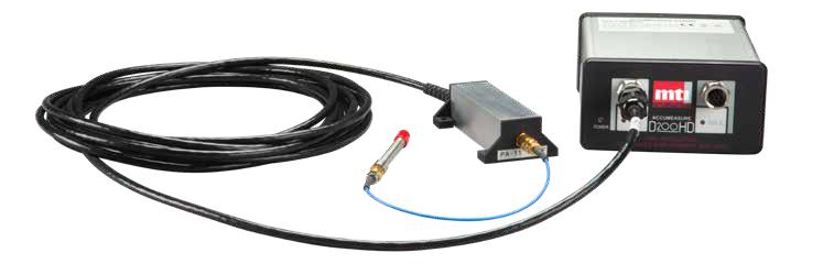 MTI Accumeasure HD amplifer, preamplifier, and 50 µm range probe.