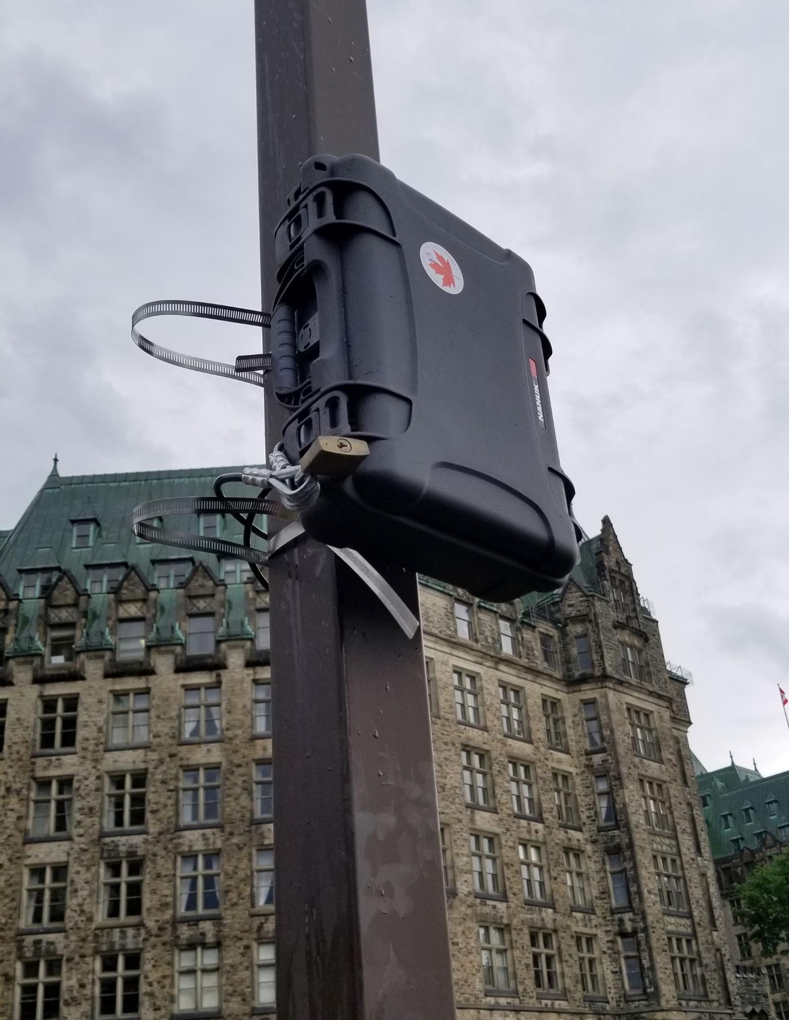 Sensor Deployed at Event