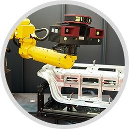 Metrology Surface Inspection During the Industrial Manufacturing Process