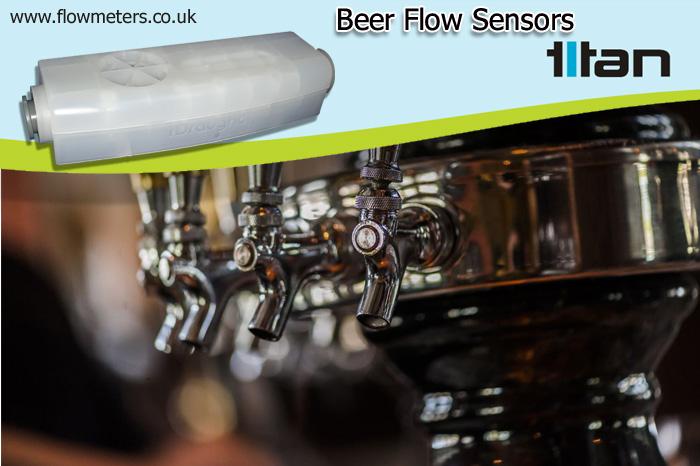 Titan Enterprises and Beer Flow Sensors - Supplying to the Beer Industry