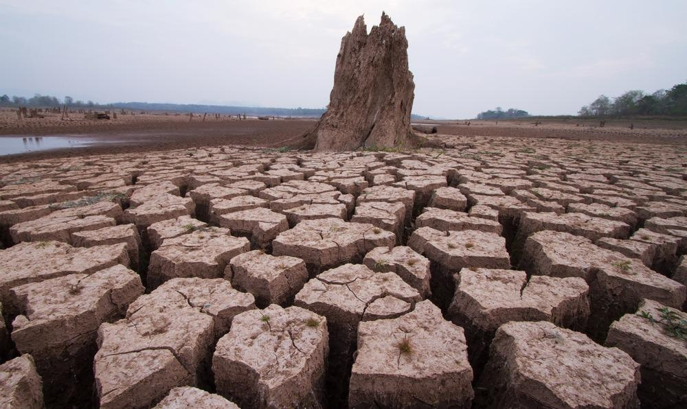extreme drought, global warming