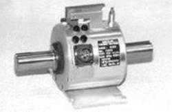 Schematic of circular shaft- slip ring-style torque sensor
