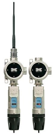 Detcon's SmartWireless CX-DM and CXT-DM gas detectors