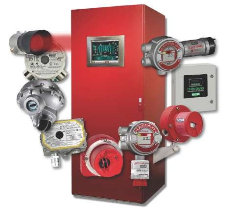 MSA GM Fixed Gas and Flame Safety System.