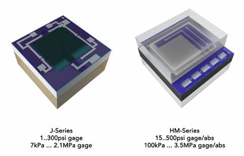 Pressure sensing elements can be chosen from the world's largest portfolio of MEMS pressure sensor devices.