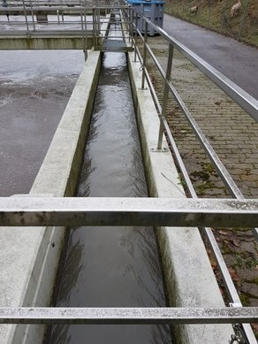 Application example WWTP inlet sewer.