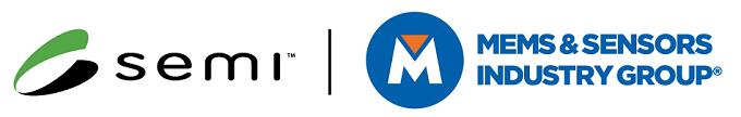 SEMI and MEMS & Sensors Industry Group logos