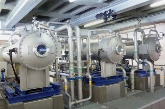 Using Pressure Measurement for the Continuous Processing of Drinking Water