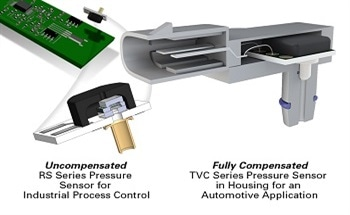 Compensated and Uncompensated Pressure Sensors