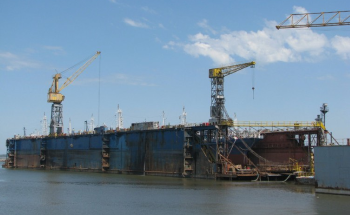 Using Sensors on a Floating Dry Dock