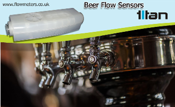 Titan Enterprises and Beer Flow Sensors - Supplying to the Beer Industry