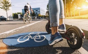 Pedestrian Defense: Making E-Scooter Use Safer with Sensors