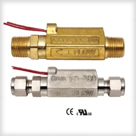 High-Pressure Inline Flow Switch with Lower Susceptibility to Clogging