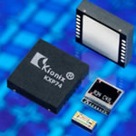 KXP74 SERIES Capacitive Accelerometers from KIONIX