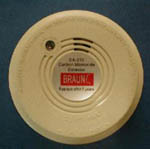 Battery Powered Carbon Monoxide Detector Alarm from Braun & Company Limited