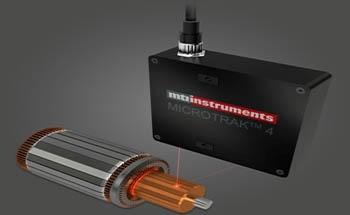Using MTI Instruments DTS- 4 Laser Triangulation Sensor for DC Motor's