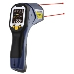 Dual Laser Infrared Thermometer for Industrial Measurement