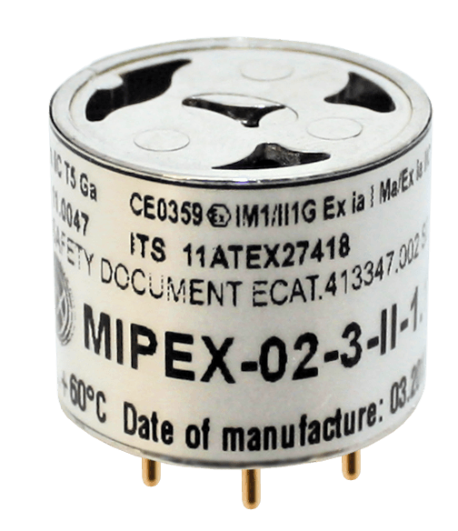MIPEX-02, a Fully Digital, Microchip-Based NDIR Optical Gas Sensor
