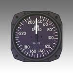 Standard Airspeed indicator from Sigma Tek, Inc