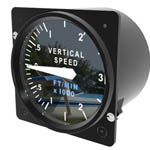 Cessna Caravan Vertical Speed Indicator from Simkits