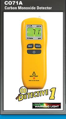 CO71A Carbon Monoxide Detector from UEi Automotive