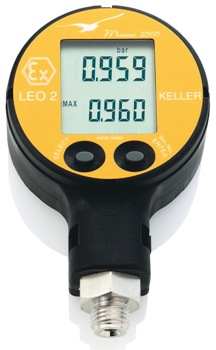 Keller UK's LEO 2 Compact Digital Manometer for Accurate Pressure Measurement