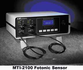 High Resolution Fiber-optic Sensor - MTI-2100 FOTONIC