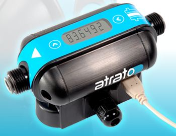 Atrato Ultrasonic Flow Meter with Time of Flight Measurement System